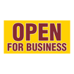 """5"""" x 10"""" Printed Plastic Sign 