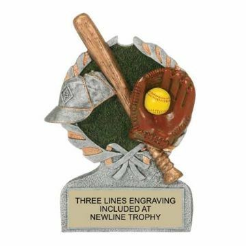 Centurion Resin Softball Trophy | Engraving Included