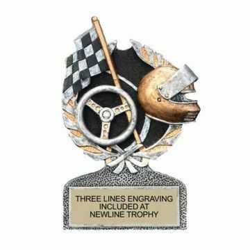 Centurion Resin Racing Trophy | Engraving Included
