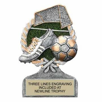 Centurion Resin Soccer Trophy | Engraving Included