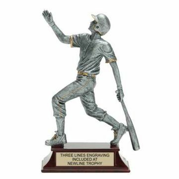 Elite Resin Baseball Trophy Male | Engraving Included