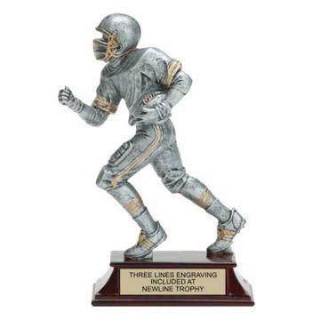 Elite Resin Football Trophy Male | Engraving Included