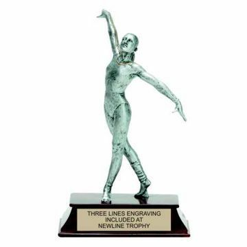 Elite Resin Gymnastics Trophy Female | Engraving Included