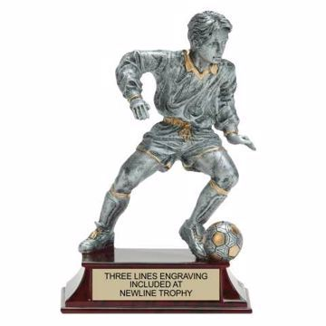 Elite Resin Soccer Trophy Male | Engraving Included