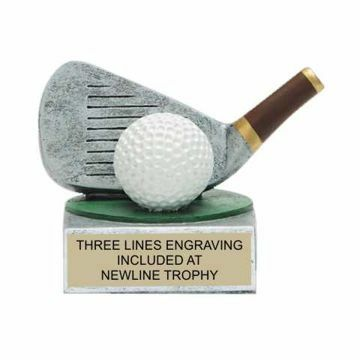 Color Tek Resin Golf Trophy | Engraving Included