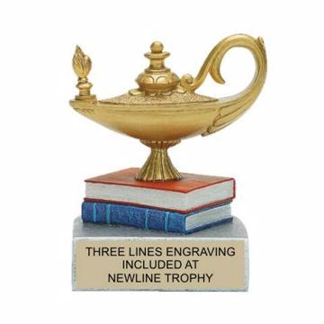 Color Tek Resin Knowledge Trophy | Engraving Included