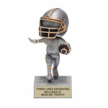 Football Bobble Trophy | Engraving Included