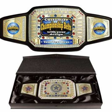 Custom Championship Award Belt | By NewlineTrophy.com