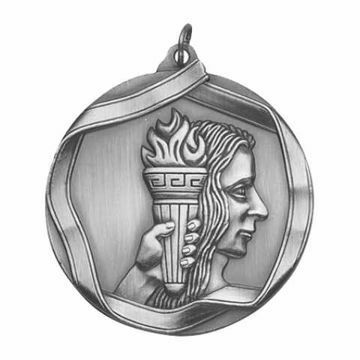 "MS601 2 1/4"" Die Cast Achievement Medallion 