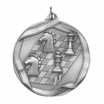 "MS650 2 1/4"" Die Cast Chess Medallion 