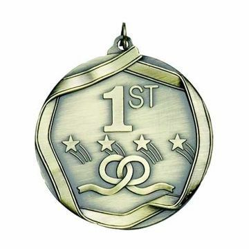 "MS691 2 1/4"" Die Cast Place Medallion 