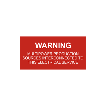 Warning Multipower Production