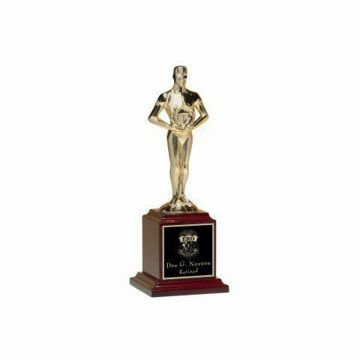 """Achiever Trophy Metal 9"""" 