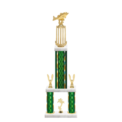 "26"" Multi-Tier Fish 