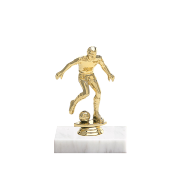 "5"" Soccer Figure on Marble Base Trophy"