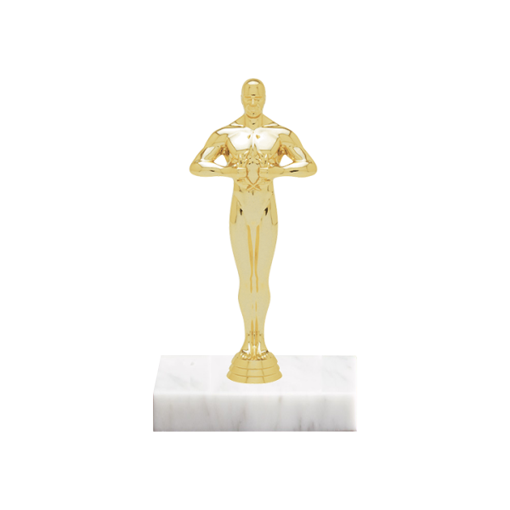 """5"""" Victory Figure on Marble Base Trophy"""