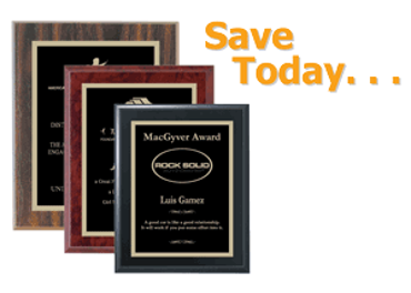 Picture for category Low Cost Value Plaques