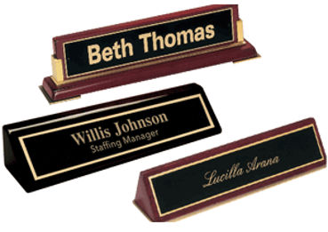 Picture for category Desk Name Plates