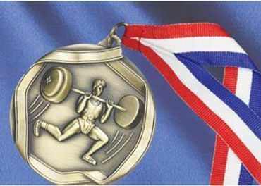 Picture for category Weightlifting Medals