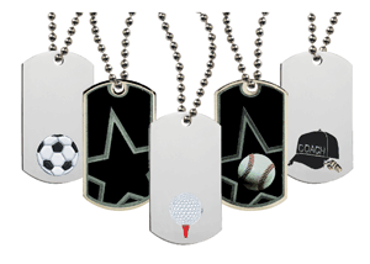 Picture for category Military Style Dog Tags