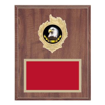 "Picture of 8"" x 10"" Animal Plaque with Flame Medallion Holder"
