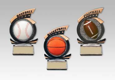 Picture for category Gold Star Resin Trophies