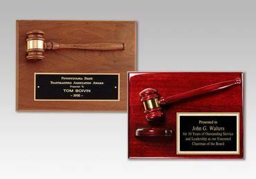 Picture for category Gavel Plaques