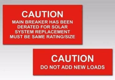 Picture for category Caution Solar Tags